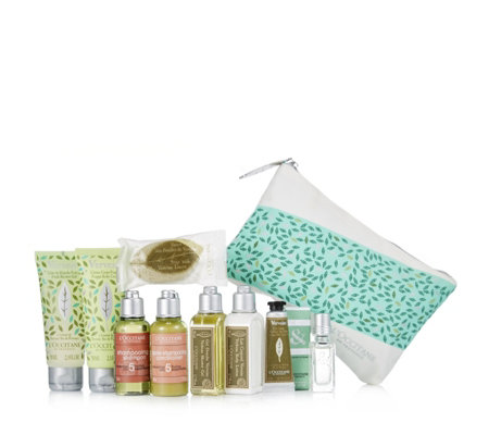 L'Occitane 10 Piece Stay Fresh Travel Collection