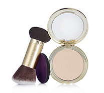 tarte Confidence Creamy Powder Foundation with Double Ended Brush - 216490