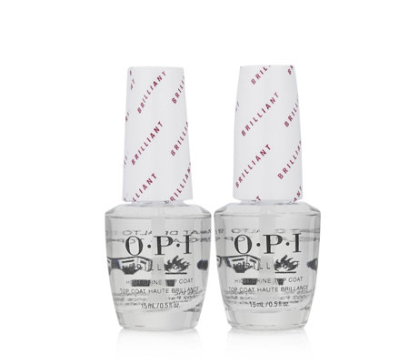 OPI Brilliant Top Coat Duo