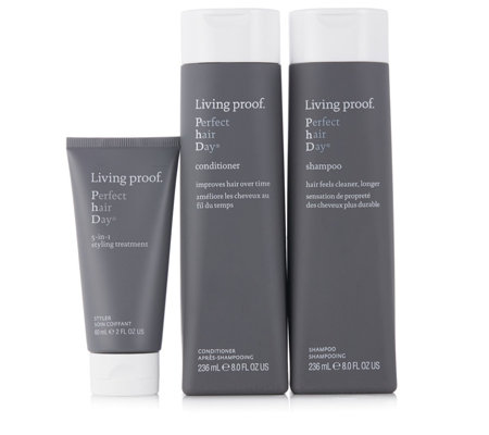 Living Proof 3 Piece PhD Complete Cleanse & Condition Hair Collection