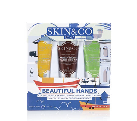 Skin & Co Roma 3 Piece Beautiful Hands Collection
