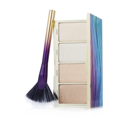 Tarte Rainforest of the Sea Skin Twinkle Lighting Palette Vol. II with Brush