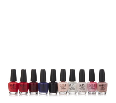 OPI 10 Piece Mini Christmas Limited Edition Collection