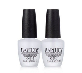 OPI Rapidry Top Coat Duo - 215293