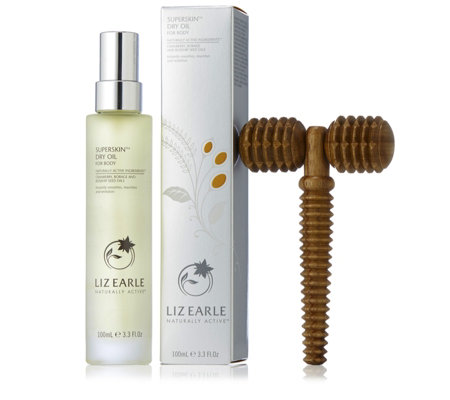 Liz Earle Superskin Body Oil With Massage Tool