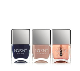 Nails Inc 3 Piece Winter Colour Collection - 234393