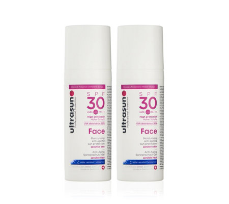 Ultrasun Sun Protection Face SPF 30 50ml Duo