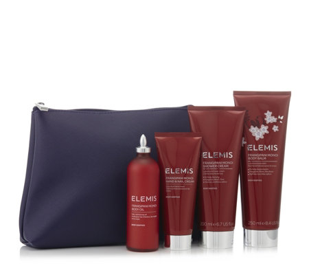 Elemis 4 Piece Frangipani Collection