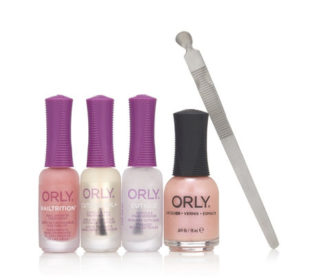 Orly 5 Piece New Nail Collection