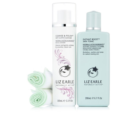 Liz Earle Cleanse & Polish & Skin Tonic Botanical Beauty Soothers