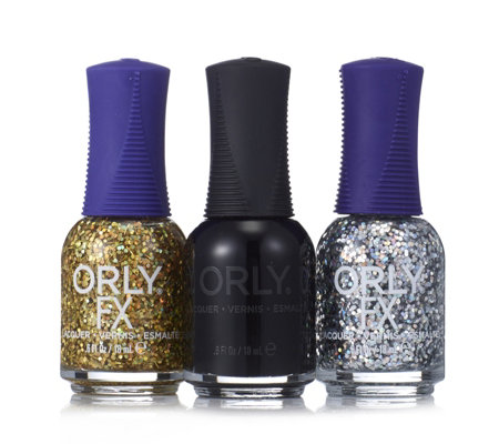 Orly 3 Piece Holographic Collection