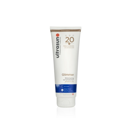 Ultrasun Sun Protection Glimmer SPF20 250ml