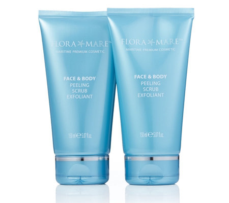Flora Mare Face & Body Scrub 150ml Duo
