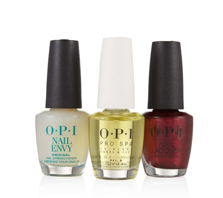 OPI 3 Piece Love Your Nails Collection