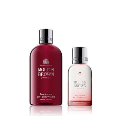 Molton Brown Rosa Absolute Bath & Shower Gel & Eau de Toilette