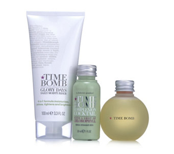 Lulu's Time Bomb 3 Piece Purify & Hydrate Skincare Collection - 228498