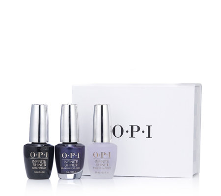 OPI 3 Piece Classic Infinite Shine Collection
