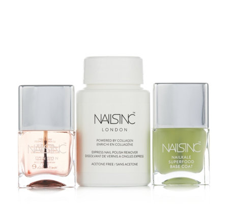 Nails Inc 3 Piece Polish Essentials Collection