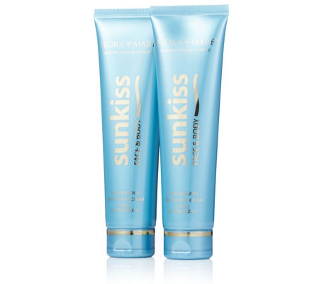 Flora Mare Sunkiss Face & Body Self Tan Lotion 100ml Duo