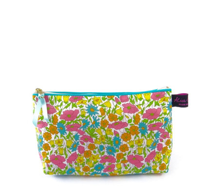 Alice Caroline Liberty London Print Cosmetic Bag & Mirror