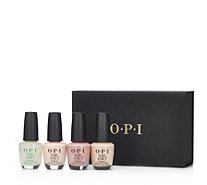 OPI 4 Piece Nail Envy Wardrobe In Gift Box - 234698
