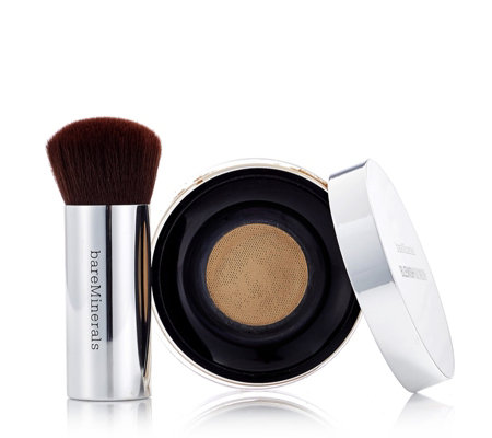 bareMinerals Blemish Remedy Foundation & Seamless Buffing Brush