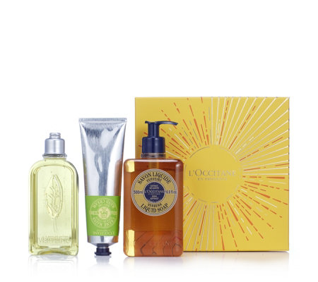 L'Occitane 3 Piece Luxury Gift Box Collection