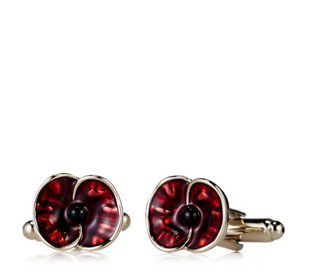 The Poppy Collection Poppy Cufflinks by Buckley London