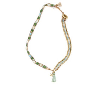 Lonna & Lilly Wrap Bead 38cm Necklace - 309801