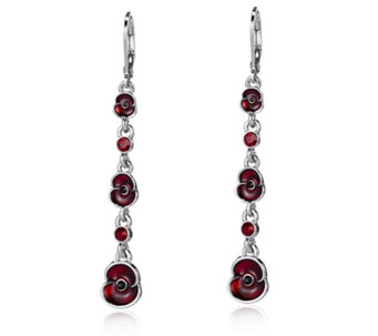 The Poppy Collection Drop Earrings by Buckley London - 312501