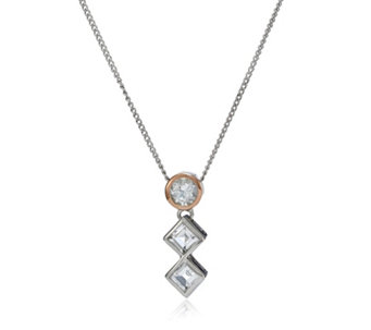Clogau 9ct Rose Gold & Sterling Silver Welsh Royalty 56cm Necklace - 312402