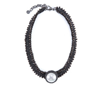 Butler & Wilson Simulated Pearl Choker - 308603