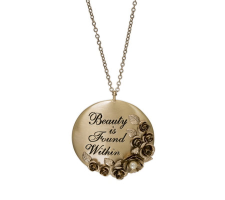 Danielle Nicole Disney Beauty and the Beast 80cm Necklace