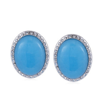 Roberto by RFM Positano Resin Cabochon Earrings - 304706