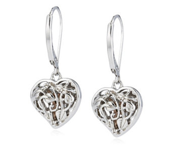 Clogau 9ct Gold Sterling Silver Fairy Earrings - 306807