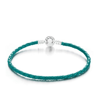 Chamilia Braided Leather Bracelet Sterling Silver - 308108