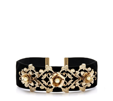 Danielle Nicole Disney Beauty & the Beast Embellished Choker
