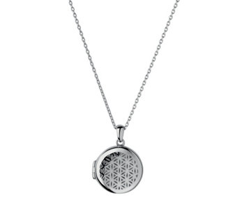 Links of London Round Maze Locket Sterling Silver - 312308