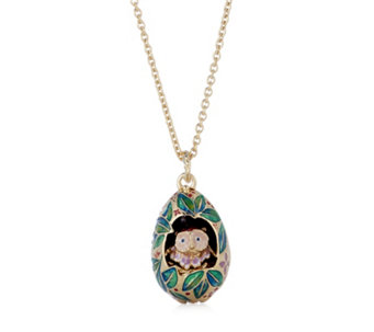Bill Skinner Owl in the Nest Adjustable 78cm Necklace - 307909