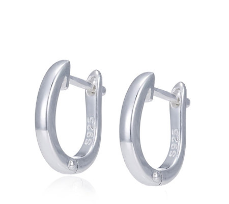 Links of London Essentials Hoop Earrings Sterling Silver