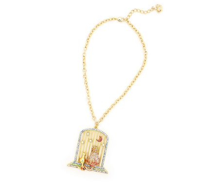 Butler & Wilson Cats 41cm Necklace