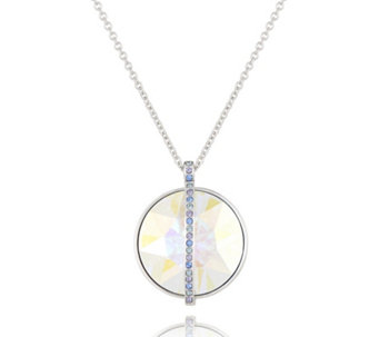 Crystal Glamour with Swarovski Crystals Iridescent Pendant 45cm Necklace - 313910
