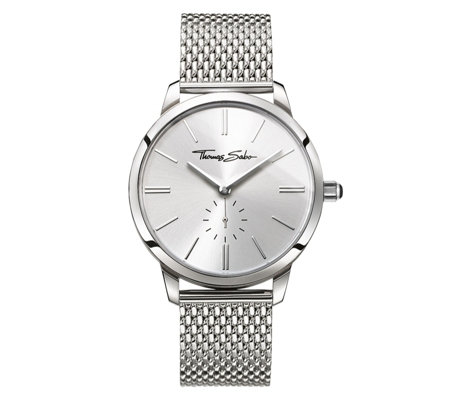 Thomas Sabo Glam Spirit Mesh Strap Watch Stainless Steel