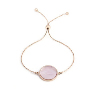 Bronzo Italia Celebration Collection, Pink Mother of Pearl Bracelet - 311413