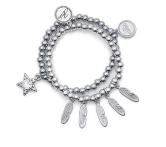 Bibi Bijoux Set of Two Ball Bracelets - 309314