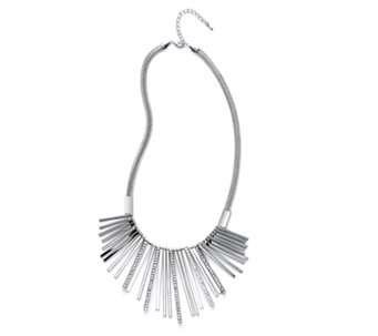 Frank Usher Shard Spray Crystal 48cm Necklace - 309115