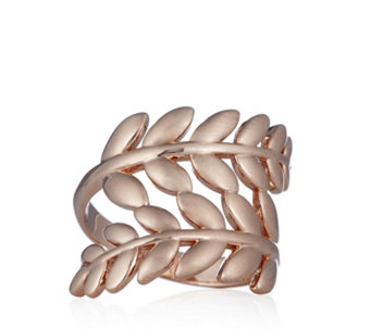 Bronzo Italia Leaf Wrap Ring - 309416