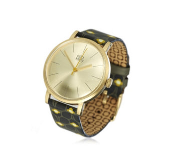 Orla Kiely Patricia Leather Strap Watch - 309118