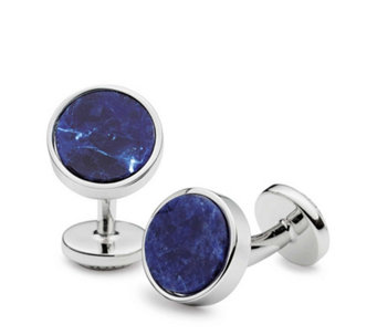 Charles Tyrwhitt Mens Sodalite Evening Cufflinks - 320318
