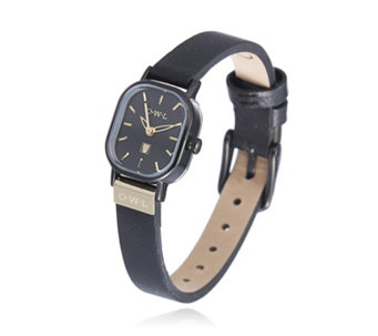 O.W.L Stratford Stainless Steel Leather Strap Watch - 307519